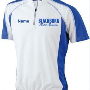 Blackburn Road Runners Contrast Mens Bike T-shirt (JN420)