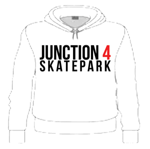 51b5f5d4b Junction 4 Skatepark Youth Chest Logo Hoodie