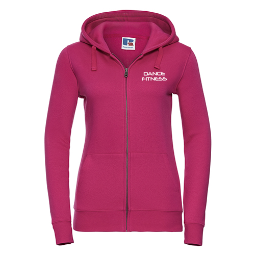 J266F Dance Fitness Blackburn Ladies Zip Hoodie