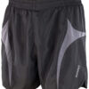 S183X Casked Runners Black/Grey Micro-Lite Running Shorts