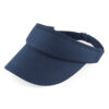 Withnell Fold Navy Sports Visor (BC041)